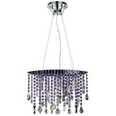"Divine Ice Collection 15"" Wide Pendant Chandelier"