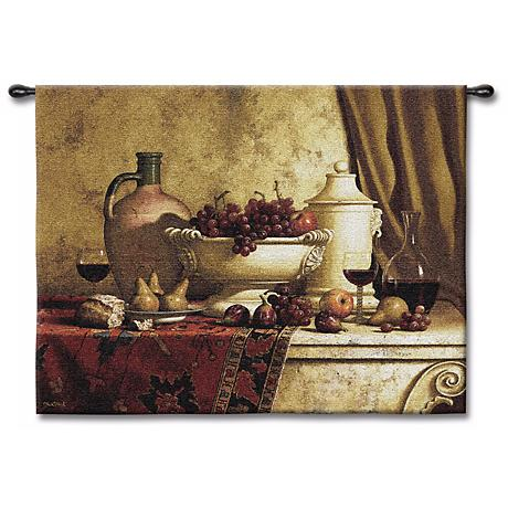 "The Great Feast Large 66"" Wide Wall Tapestry"
