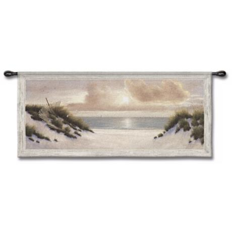 "East Shore 53"" Wide Wall Tapestry"