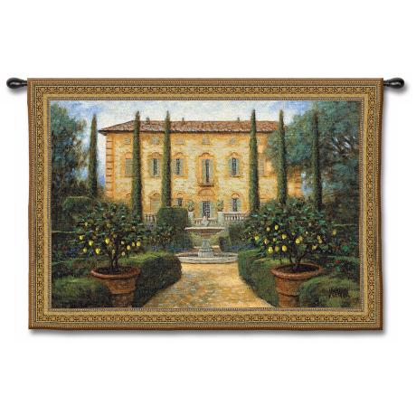 "La Villa 53"" Wide Wall Tapestry"