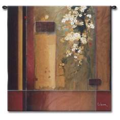"Cherry Blossom 53"" Square Wall Tapestry"