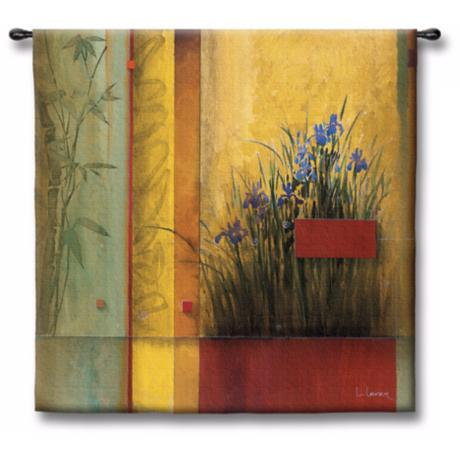 "The Garden Story 53"" Square Wall Tapestry"
