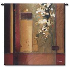 "Blossoms in Bloom 35"" Square Wall Tapestry"
