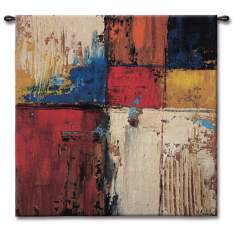 "Color Splash 53"" Square Wall Tapestry"