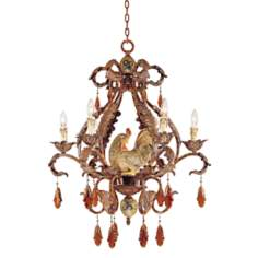 "Tracy Porter Clyde Collection 28"" Wide Chandelier"