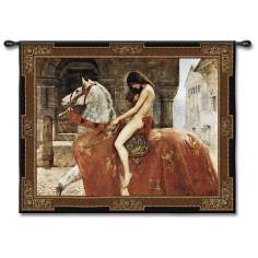 "Lady Godiva 53"" Wide Wall Tapestry"