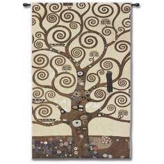"Tree of Life 48"" High Wall Tapestry"