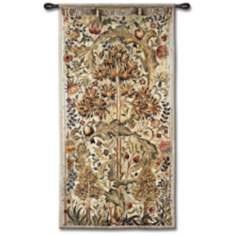 "Summer Quince 68"" High Wall Tapestry"
