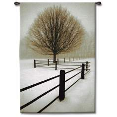 "Winter Solace 53"" High Wall Tapestry"