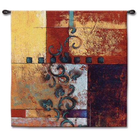 "Dream State 53"" Square Wall Tapestry"