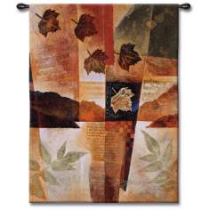 "Fall Medley 53"" High Wall Tapestry"