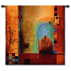 "Arabian Nights 53"" Square Wall Tapestry"