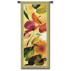 "Primavera 53"" High Wall Tapestry"
