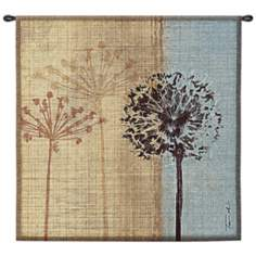 "In The Breeze 35"" Square Wall Hanging Tapestry"