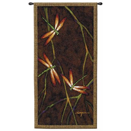 "October Song I 53"" High Wall Hanging Tapestry"
