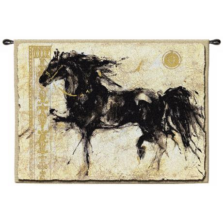 "Lepa Zena 53"" Wide Wall Hanging Tapestry"