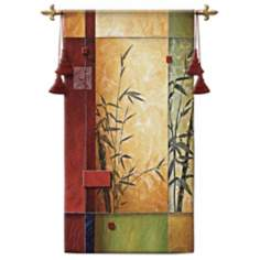 "Garden Dance I 53"" High Wall Hanging Tapestry"