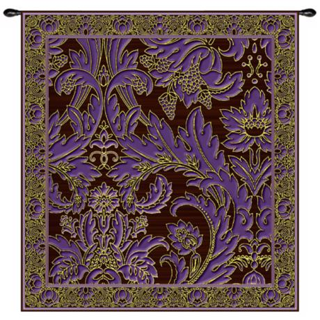 "Grapes and Chocolate 53"" High Wall Hanging Tapestry"