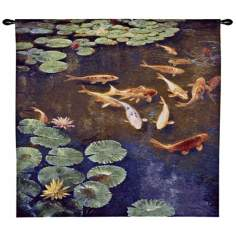 "Inclinations 45"" Wide Wall Hanging Tapestry"