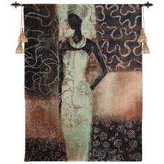"Radiance II 52"" High Wall Hanging Tapestry"