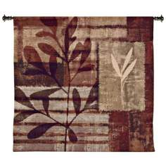 "Warm Impressions 44"" Square Wall Hanging Tapestry"