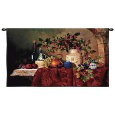 "Tavola Decapris Hanging 34"" High Wall Tapestry"