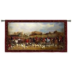 "Meet/North Warwick 53"" Wide Wall Hanging Tapestry"