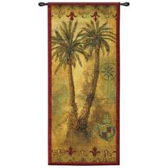 "Masoala Panel I 53"" High Wall Hanging Tapestry"