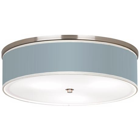 "Aqua-Sphere Nickel 20 1/4"" Wide Ceiling Light"