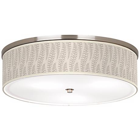 "Stacy Garcia Fancy Fern Ice 20 1/4"" Wide Ceiling Light"