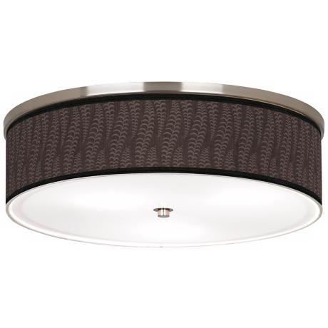 "Stacy Garcia Fancy Fern Taupe 20 1/4"" Wide Ceiling Light"