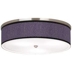 "Stacy Garcia Seafan Rich Plum 20 1/4"" Wide Ceiling Light"