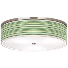 "Lexington Stripe 20 1/4"" Wide Ceiling Light"