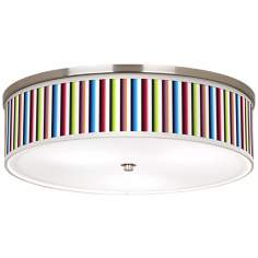 "Technocolors Energy Efficient 20 1/4"" Wide Ceiling Light"