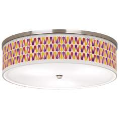 "Hinder Giclee 20 1/4"" Wide Ceiling Light"