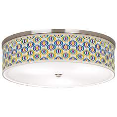 "Scatter Giclee 20 1/4"" Wide Ceiling Light"