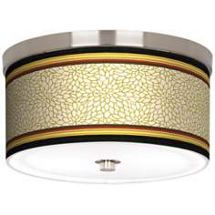 "Stacy Garcia Spice Dahlia 10 1/4"" Wide Ceiling Light"