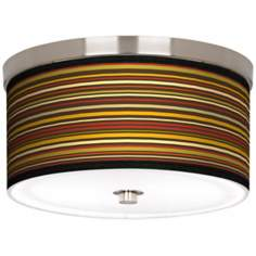 "Stacy Garcia Spice Stripe10 1/4"" Wide Ceiling Light"