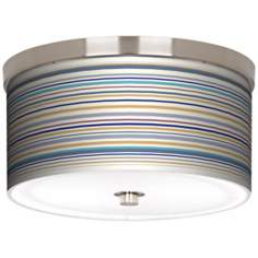 "Stacy Garcia Landscape Stripe 10 1/4"" Wide Ceiling Light"