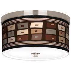 "Retro Rectangles 10 1/4"" Wide Energy Efficient Ceiling Light"