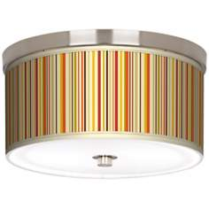 "Stacy Garcia Vertical Lemongrass 10 1/4"" Wide Ceiling Light"