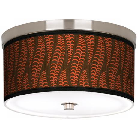 "Stacy Garcia Fancy Fern Coral 10 1/4"" Wide Ceiling Light"