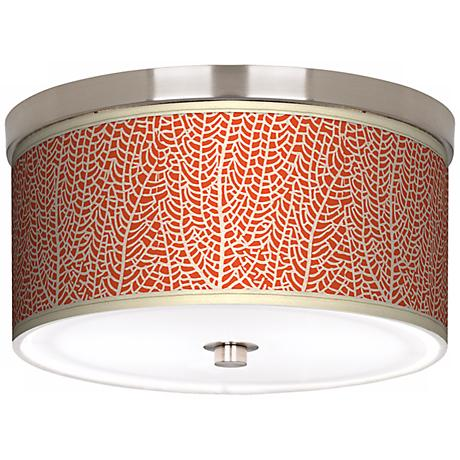 "Stacy Garcia Seafan Coral 10 1/4"" Wide Ceiling Light"