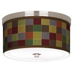 "Pixel Forest 10 1/4"" Wide Ceiling Light"