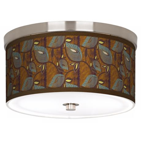 "Stacy Garcia Theatric Vine Peacock 10 1/4"" W Ceiling Light"