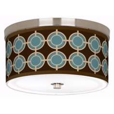 "Stacy Garcia Porthole Giclee 10 1/4"" Wide Ceiling Light"