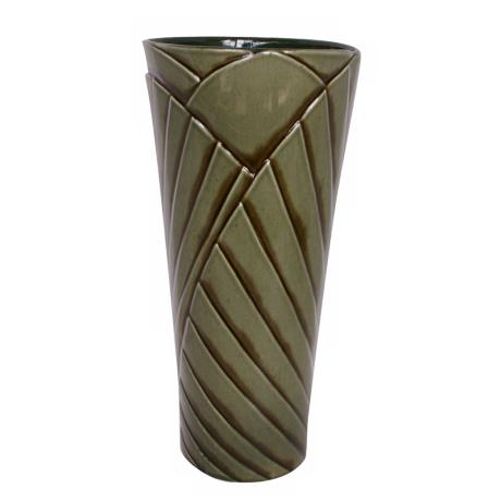 "Haeger Potteries Palm Grove 20"" Ceramic Vase"