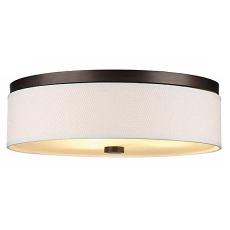 Cassandra Bronze Energy Efficient 20 1/2 Wide Ceiling Light