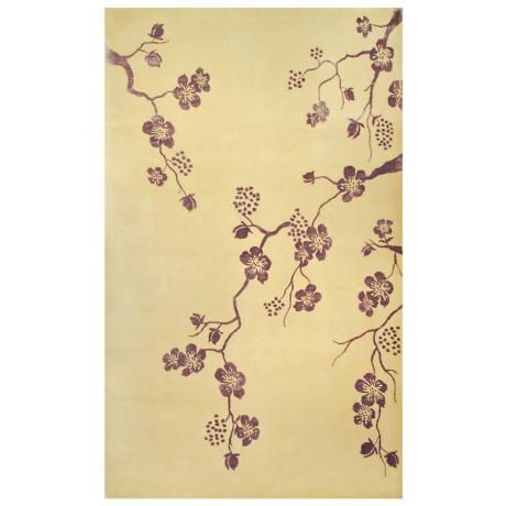 Walt Disney Signature Cream Purple Fantasy Rug