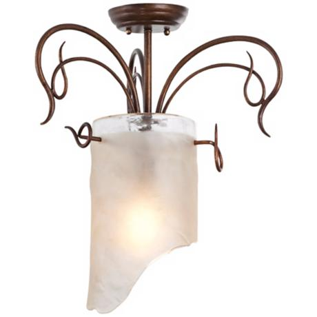 "Varaluz Soho Collection 18"" Wide Ceiling Light Fixture"
